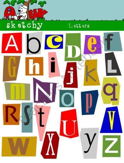 Magazine cut out letter timiznceptzmusic magazine cut out letter spiritdancerdesigns Choice Image