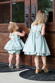 Isobel Baby Dress and Top – Violette Field Threads