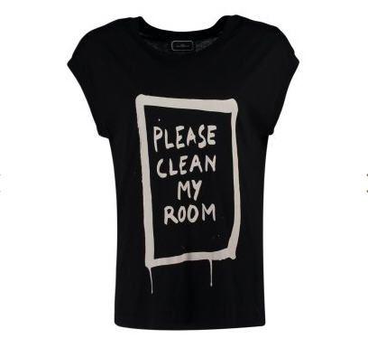 T-Shirt femme Zalando, achat By Malene Birger HASSIAN T-shirt imprimé noir prix promo Zalando 70.00 € TTC.