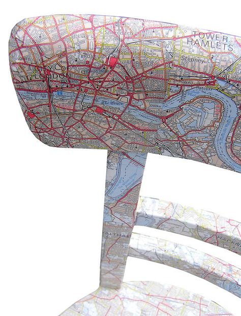 map-pimped chair