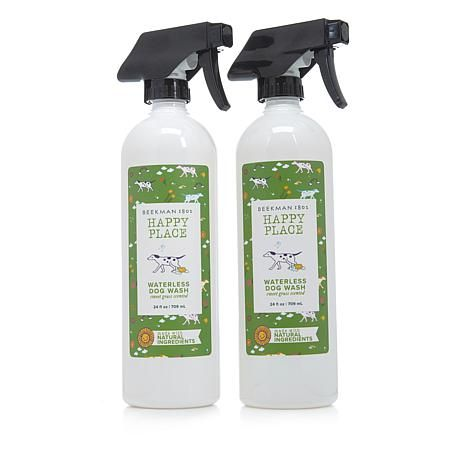 Happy Place Waterless Shampoo For Dogs 2 Pack 8844915 Hsn Waterless Shampoo Waterless Dog Wash