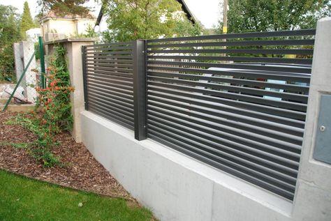 59 best Außenanlage images on Pinterest Decks, Gates and Backyard - sichtschutzzaun aus kunststoff gute alternative holzzaun