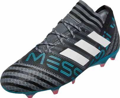 Adidas Messi Nemeziz 17 1 Grey And White Adidas Soccer Boots Soccer Boots Messi Boots