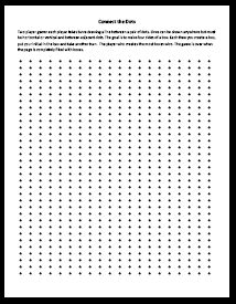 I Loved This Game As A Kid  Free Printable Connect The Dots