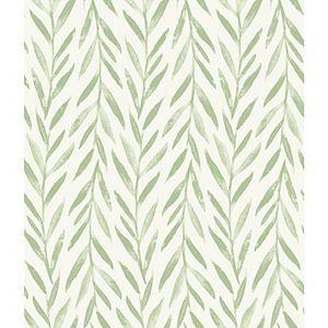 Willow Green Wallpaper Peel And Stick Wallpaper Green Wallpaper Magnolia Homes