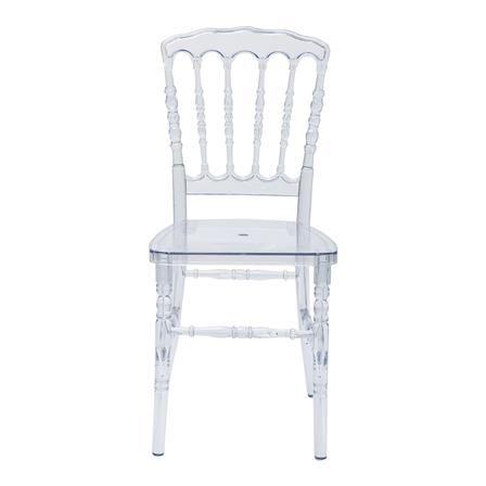 Achica Napoleon Chair Clear Clear Chairs Chair Napoleon Chair