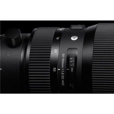 Sigma 50 100mm F 1 8 Dc Hsm Art Lens For Canon Ef Cameras Art
