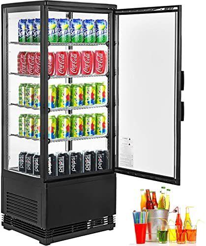 New Vbenlem 3 1 2 Cu Ft Commercial Countertop Refrigerator 100l
