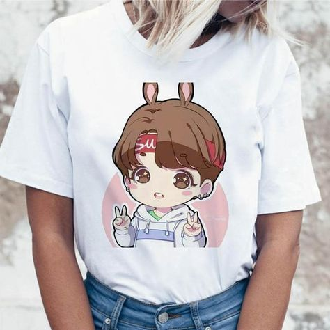 Korean Tees Funny Graphic T-shirt - 1073 / XL