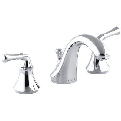 Kohler Forte Widespread Bathroom Faucet With Drain Assembly In