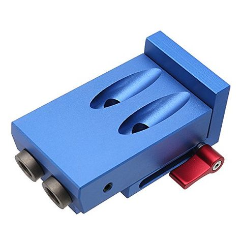 Tanchen Woodworking Tool Pocket Hole Jig Woodwork Guide Repair Carpenter Kit System Click Image To Examine Even M Woodworking Tools Woodworking Pocket Hole
