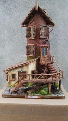 Regalo Casetta Da Giardino.Idee Regalo Artista Pventu 55 Tegole Case In Miniatura