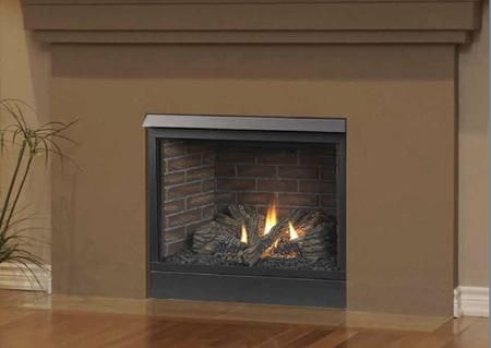 42cfdvpisl 42 Liquid Propane Slp Vent Fireplace With Clean Face Design Certified Safety Barrier Fireplace Hearth