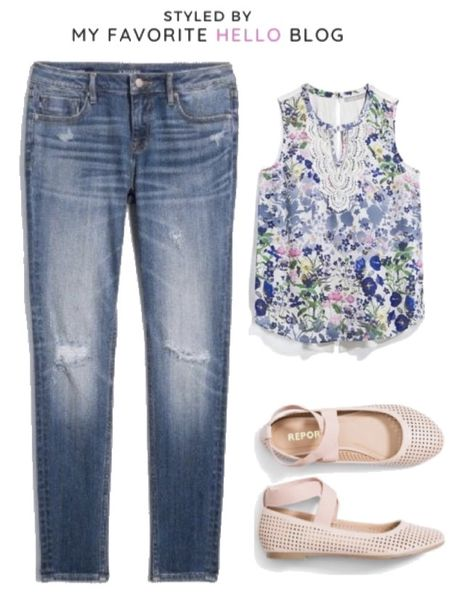 July Edition: 30 Stitch Fix Summer Outfits with 14 Pieces | My Favorite Hello Blog