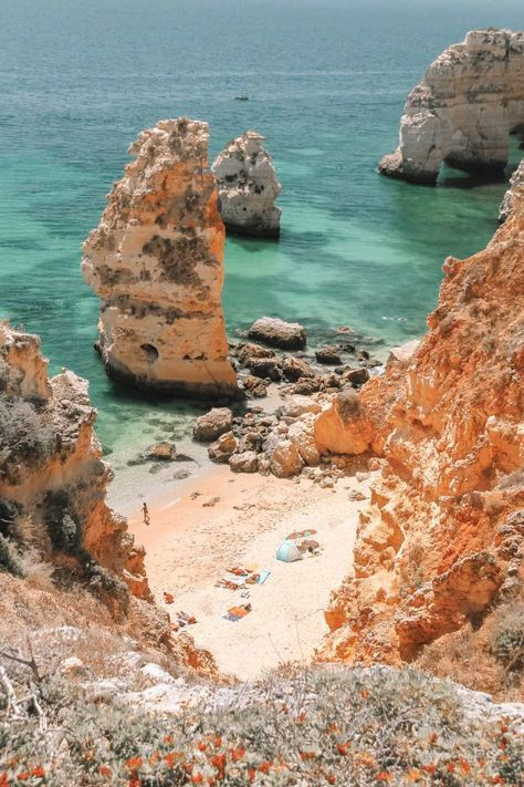 10 Best Beaches In Portugal To Visit - - One of the best parts about any trip to Portugal is definitely visiting one of its many amazing beaches. After all, there's a huge amount of the best beaches in Portugal dotted all over the. Best Beaches In Portugal, Places In Portugal, Portugal Travel, Yogyakarta, The Beach, Beach Fun, Beach Trip, Alberta Canada, Honduras