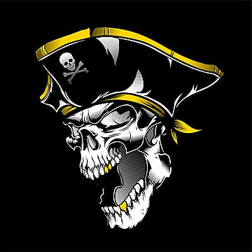 Skull Pirate Hand Drawing Vector Skull Clipart Pirates Skulls Png And Vector With Transparent Background For Free Download How To Draw Hands Pirate Illustration Drawings