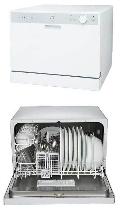 Dishwashers 116023 Sunpentown Spt Countertop Dishwasher With