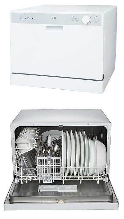 Dishwashers 116023 Sunpentown Spt Countertop Dishwasher With
