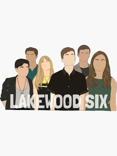 The Lakewood Six: MTV Scream Sticker