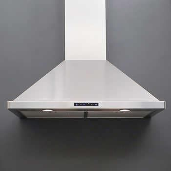 Valore Summit 30 Or 36 Stainless Steel Chimney Range Hood With 700 Cfm And Quiet Mode In 2020 Chimney Range Hood Range Hood Stove Vent Hood