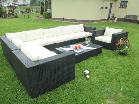 Exclusive Garten Lounge Xxl Sitzgruppe Gartenmobel
