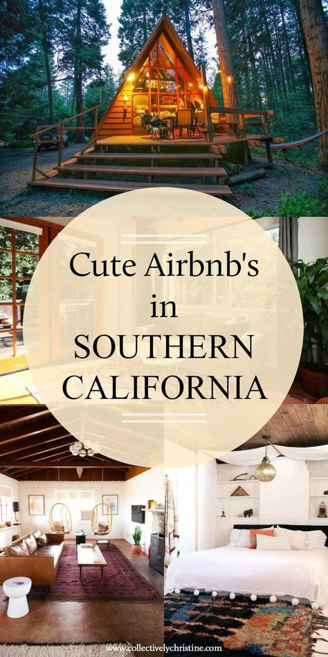 7 Cute Airbnb's in Southern California – Collectively Christine Airbnb California, Southern California Camping, California Getaways, California Honeymoon, California Travel, Glamping California, The Places Youll Go, Cool Places To Visit, Places To Travel