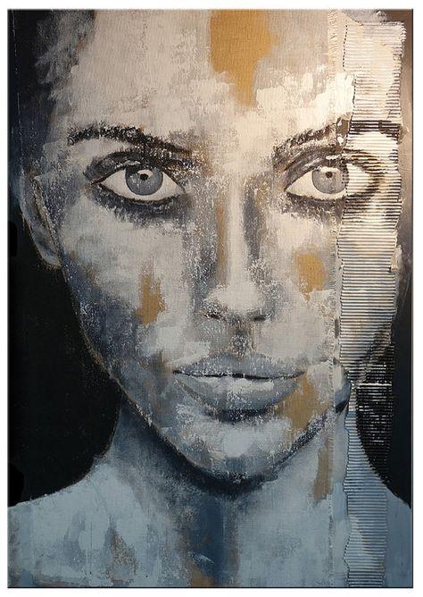 artLigne XXL kunst acryl originele Acryl schilderij van hedendaagse beeldende kunst