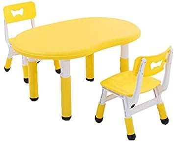 Jn Children S Study Desk Children S Table Stool Toddler Tables Chairs Kindergarten Household Adjustable He In 2020 Kids Study Table Toddler Table Study Table And Chair