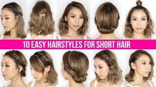 10 Easy Ways To Style Short Hair Long Bob Tina Yong Long Bob Hairstyles Short Hair Styles Short Hair Back