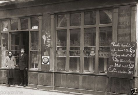 Ancien Commerce Epicerie Droguerie Toulouse Photo Ancienne 1920