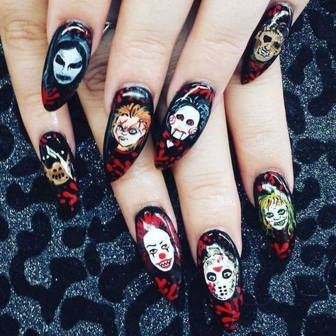 55 Amazing Halloween Nail Art Ideas