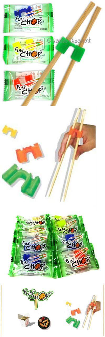 Funchop Individually Packaged 6 Fun Chops Training Chopsticks Helpers