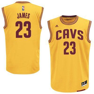 Youth Cleveland Cavaliers LeBron James adidas Replica Alternate ...