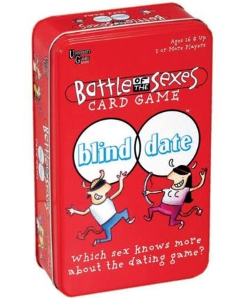 Battle Of The Sexes Blind Date Card Game In A Tin In 2019 Games