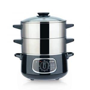 Secura 2 Tier Stainless Steel Food Steamer Steamer Recipes Electric Food Steamer Food Steamers