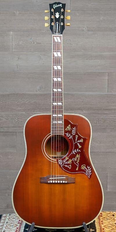Gibson Hummingbird Vintage 2014 2019 Reverb Gibson Guitars Acoustic Gibson Guitars Gibson