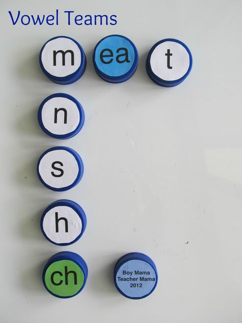 Teacher Mama: Bottle Caps ABCs - Boy Mama Teacher Mama