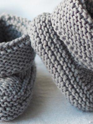 Vauvan neuletossut | Knitting, Baby knitting, Crochet