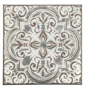 Embossed Quatrefoil With Swirls Metal Wall Decor Hobby Lobby 1644053 In 2020 Metal Wall Decor Wall Decor Online Skull Wall Decor