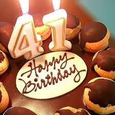 Image Result For 41st Birthday Number Cake With Images 41st