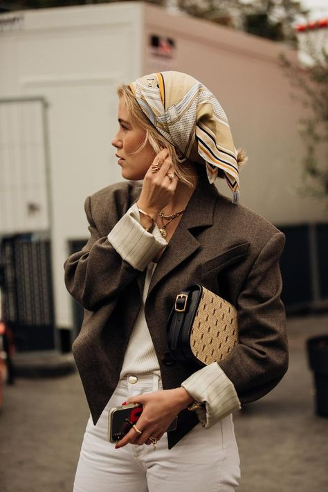 16 times the Paris street style set showed us how to dress for in-between weather