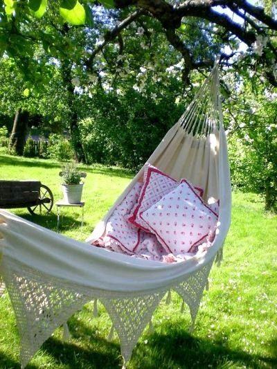 Hammocks, Shabby Chic Garden And Design Files