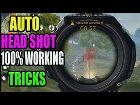 Auto Headshot Tricks 100 Working Auto Headshot Tricks In Free Fire Run Gaming Tamil Free Fire Epic In 2021 Headshots Free Fire New Tricks