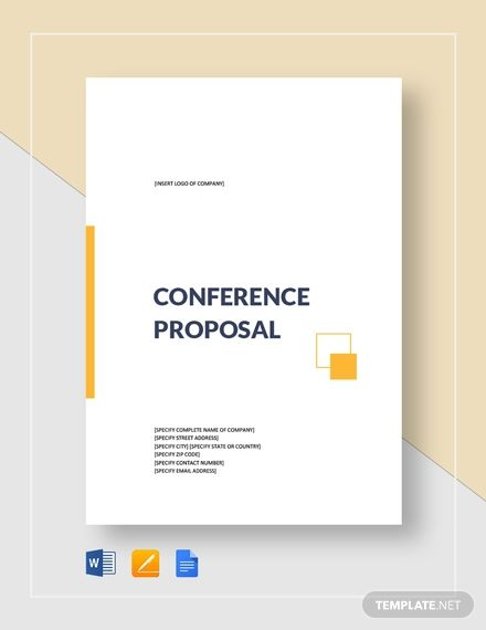 Conference Proposal Template Free Pdf Google Docs Word Apple Pages Pdf Template Net Proposal Templates Word Template Company Proposal