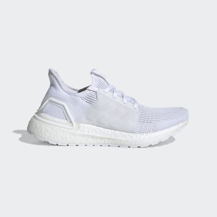 Ultra Boost 19 Women's Shoes All White Adidas Womens 7.5