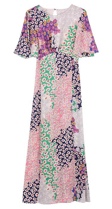 Topshop fans are going wild over THIS floral dress right now Fashion For Women Over 40, Womens Fashion For Work, Curvy Fashion, Fashion Edgy, Fashion Boots, Women's Fashion Dresses, Fans, Jane Moore, Clothing Catalogs