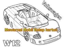 Hasil Gambar Untuk Mewarnai Mobil Balap Sederhana Mobil Balap