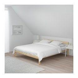 Neiden Bed Frame Pine Full Bed Frame Pine Bed Frame Bed