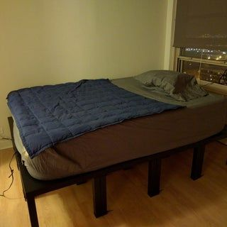 Diy Platform Bed Substitute Out Of The Box Portable