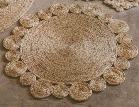 tappeto di iuta e corda di sisal (via shelterness) | Tappeti ...